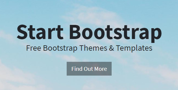 Portfolio Bootstrap Layout Template
