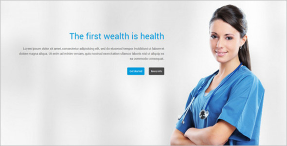 Portfolio Medical Joomla Template