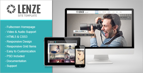 Portfolio Photography HTML Template