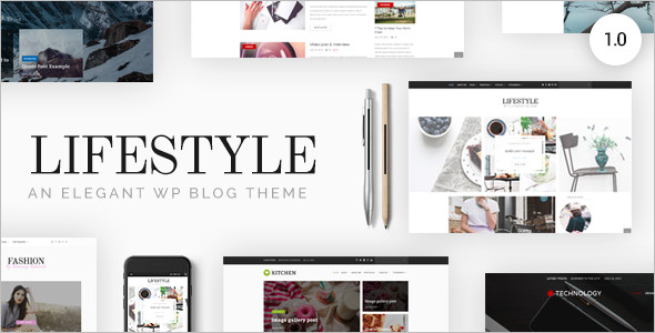 Portfolio Responsive WordPress Blog Theme