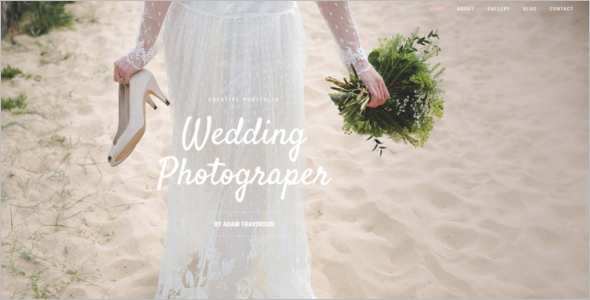 Portfolio Wedding WordPress Theme