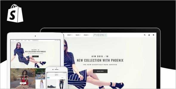 Premium HTML Fashion Website Template
