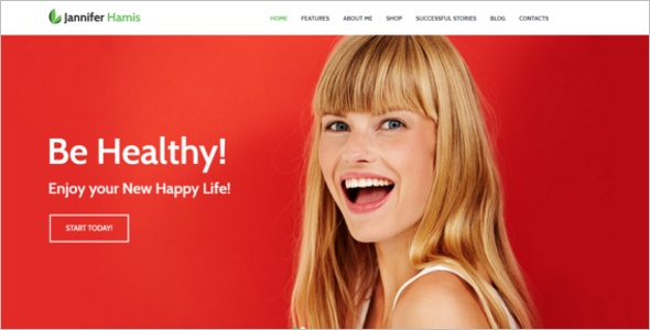 Premium Health Blog Theme
