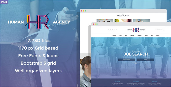 Premium Job Board Joomla Theme