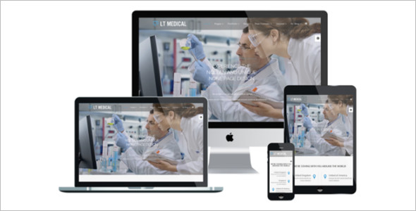 Premium Medical Joomla Template