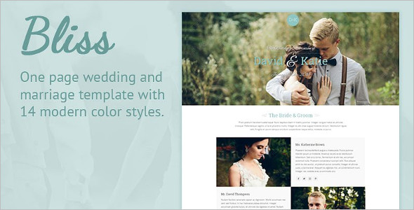 Premium Wedding Joomla Template