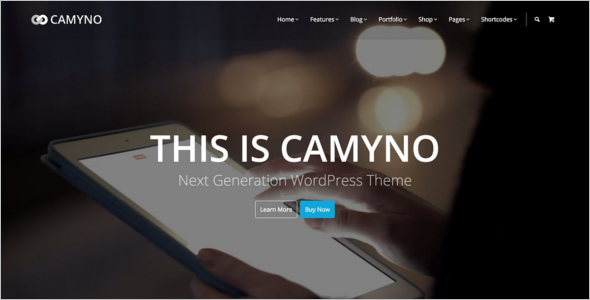 PremiumCorporate WordPress Template