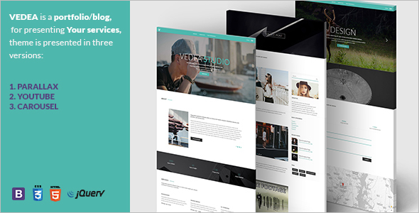 Professional Blog HTML Template