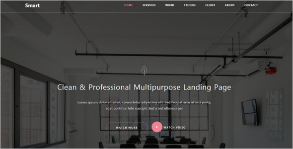 Professional Bootstrap Template