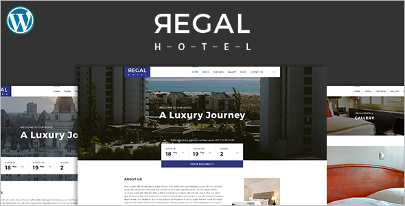 Professional Hotel Bootstrap Theme