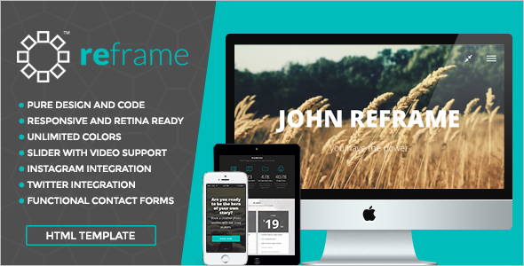 Professional Photography HTML Website Template