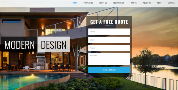 Property Provider Website Template
