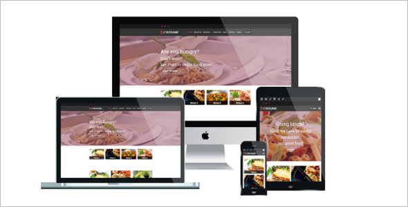 Quick Restaurant WordPress Template