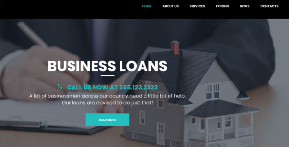 Real Estate Loans WordPress Theme