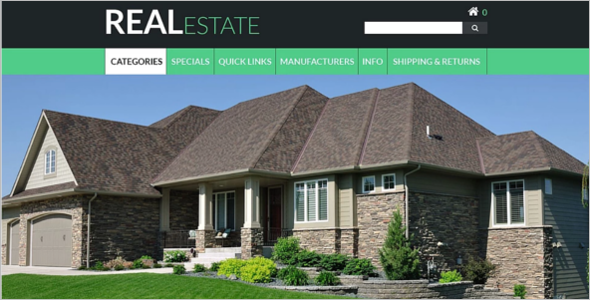 Real Estate ZenCart Theme