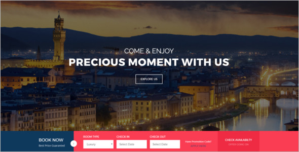 Resorts HTML Website Template