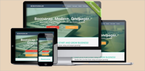 Responsive Bootstrap Templates