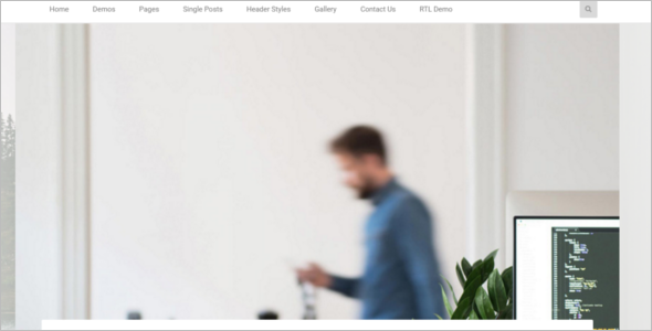 Responsive Business Blog Template