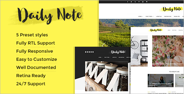 Responsive Creative Blog Template