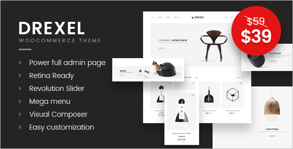 Responsive E-commerce WordPress Theme