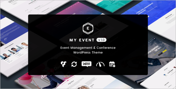Responsive Event WordPress Theme