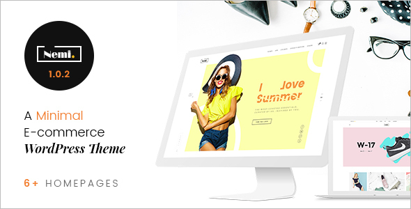 Responsive Fashion Store WordPress Theme
