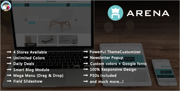 Responsive Furniture Store Prestashop Theme