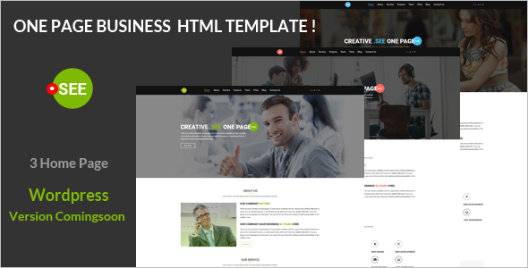 Responsive HTML Business Templates