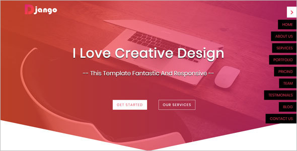 Responsive HTML5 Web Template