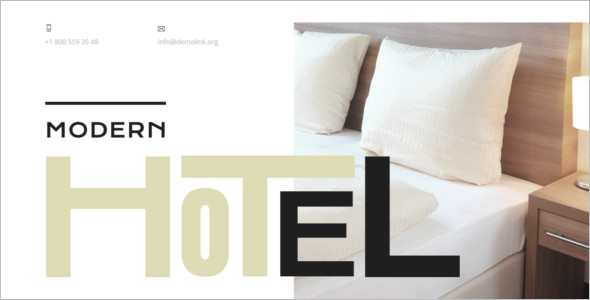 Responsive Hotel HTML Template