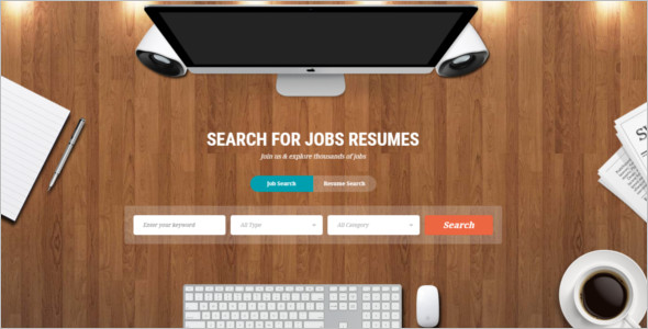Responsive Job Board Joomla Theme