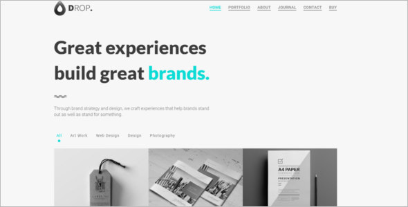 Responsive Minimal Bootstrap Template