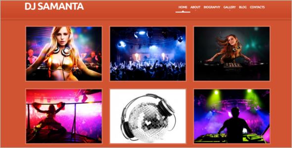 Responsive Music WordPress Theme