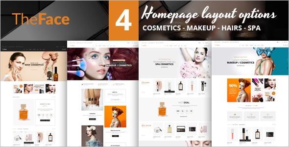 Responsive Opencart Beauty Template