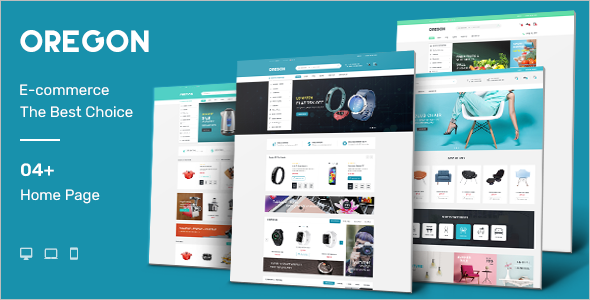 Responsive Opencart E-commerce Template