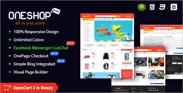 Responsive Opencart Extension Template