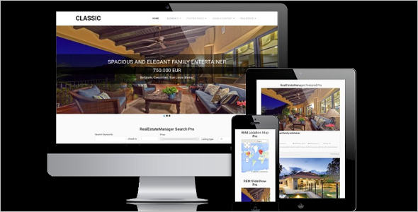 Responsive Real Estate Blog Template
