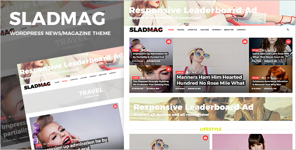 Responsive Single Page WordPress Theme