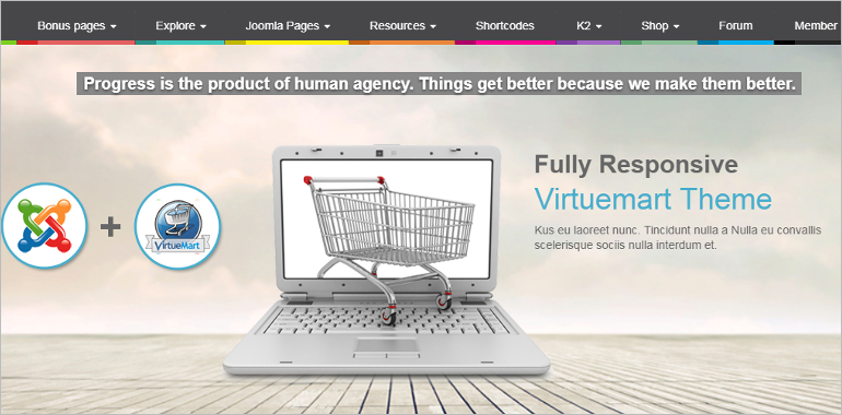 Responsive Virtuemart Templates