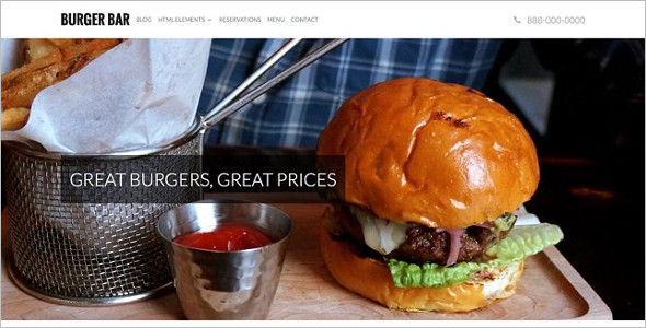 Restaurant Nulled WordPress Template