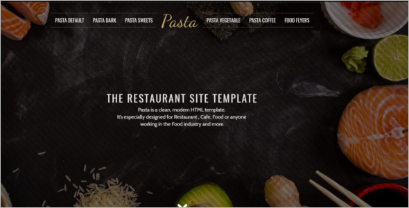 Restaurant Website HTML Template