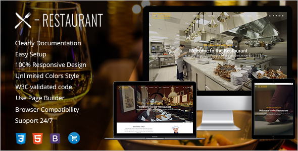 Restaurant WordPress Guide Template