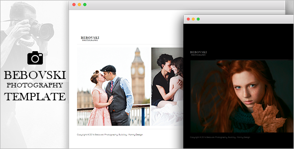 Romantic Photography HTML Website Template
