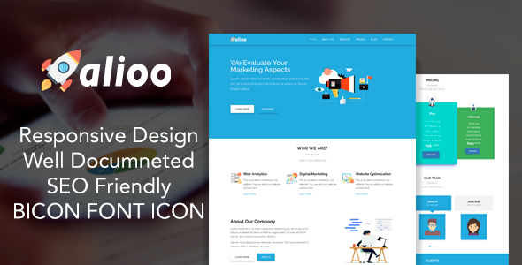 SEO Business HTML Template