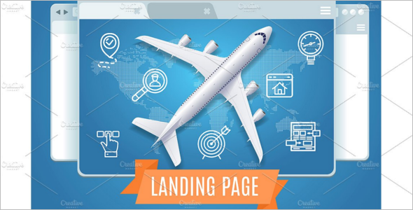 SEO Concept Landing Page Template