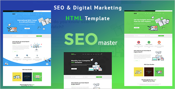 SEO Marketing HTML Template