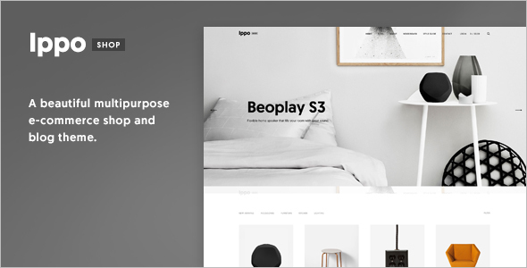 Simple E-commerce WordPress Theme
