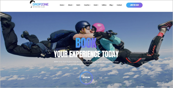 Sky Drive WordPress Theme