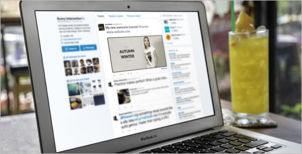 Social Media Fashion Blog Template
