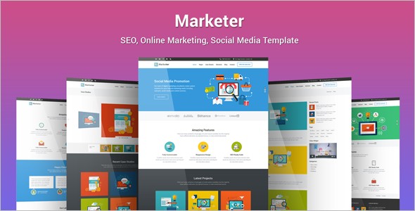 Social Network Website Template